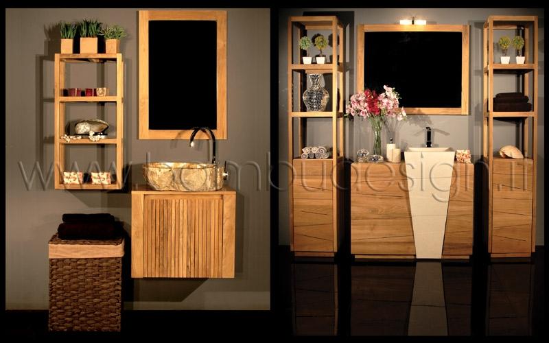 Arredi Bagno In Teak : Speciale arredobagno bambù design milano